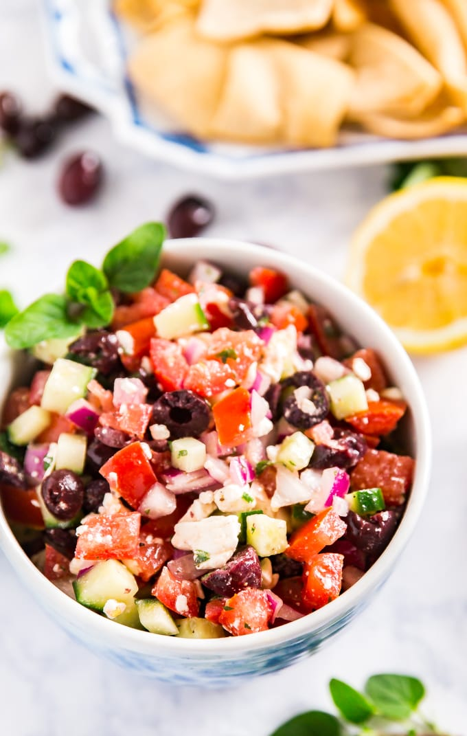 how to make greek salsa
