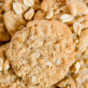 A close up of Peanut Butter Cookies