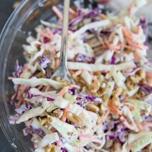 Creamy Walnut Coleslaw Recipe