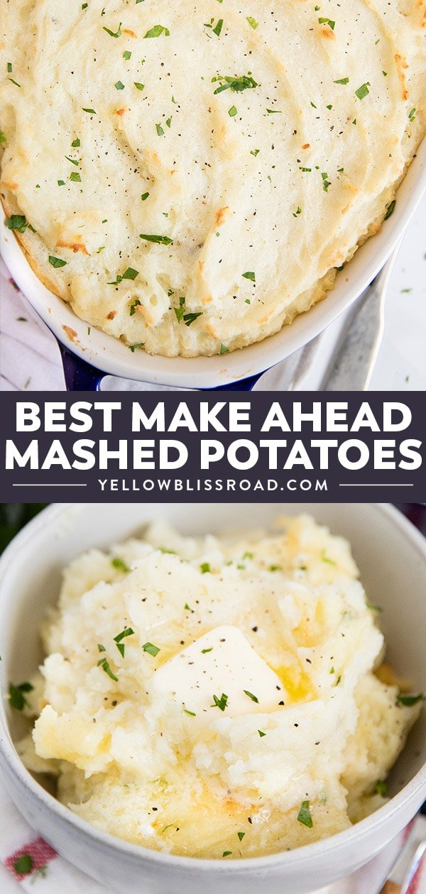Make Ahead Best Mashed Potatoes | Collage