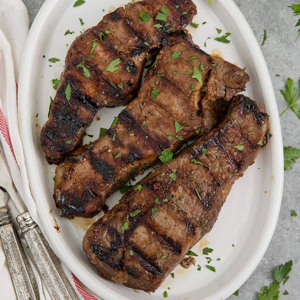 A plate of Grilled Steak