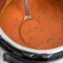 Instant Pot Homemade Tomato Soup Recipe