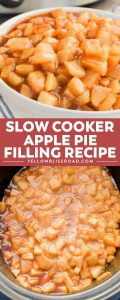 Slow Cooker Apple Pie Filling is a recipe that's a game changer. It's not just for pies! We love serving on with ice cream, pancakes, and even oatmeal!