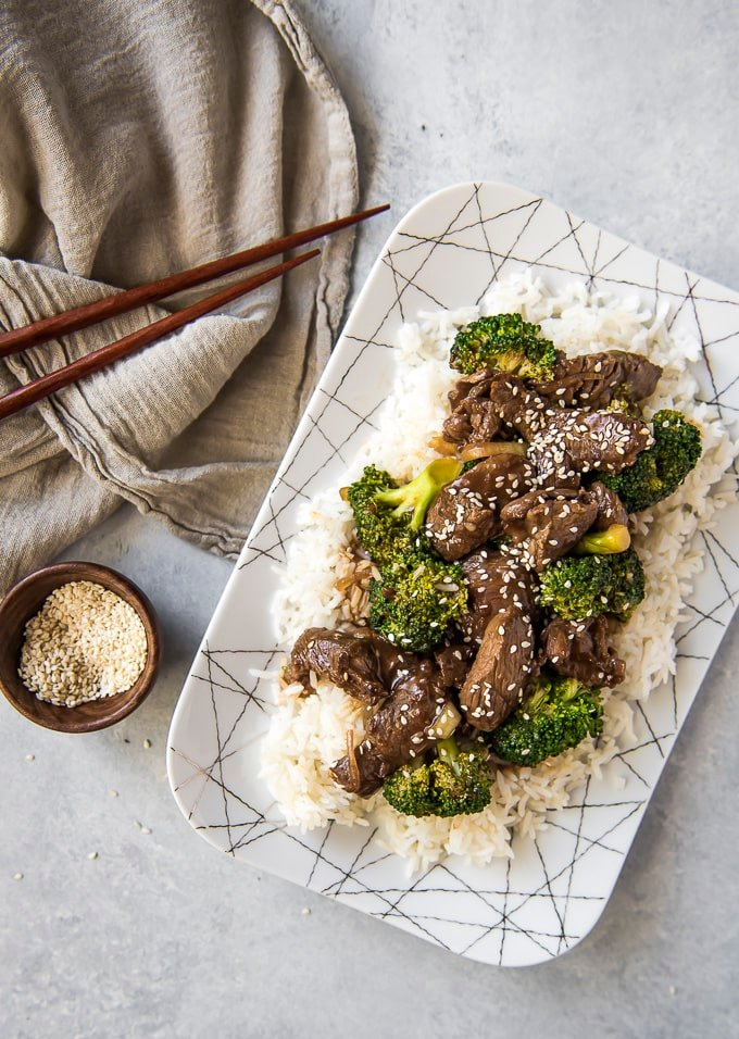 Takeout style Beef and Broccoli