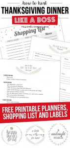 A close up of printable planners
