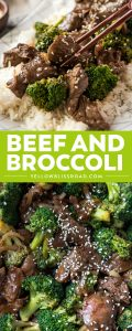 Healthy, simple, and ready in 20 minutes, Beef and Broccoli is a guaranteed dinner winner! Take out at home doesn't get any better than this!