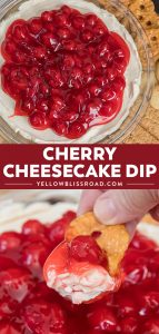 Social media image for Cherry Cheesecake Dip