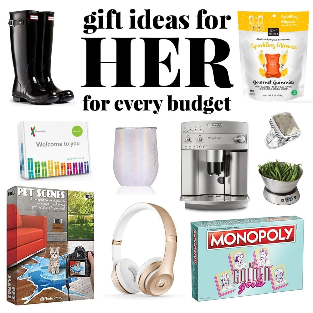 Christmas Gift Ideas for HER to Fit Every Budget