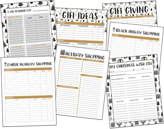 christmas planner free printable planner yellowblissroad com