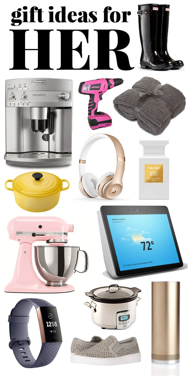 Lavish Christmas gift ideas for her