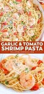 Social media image of Garlic Shrimp Tomato Spaghetti