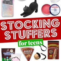 Stocking Stuffers for Teens (Stocking Stuffer Ideas)