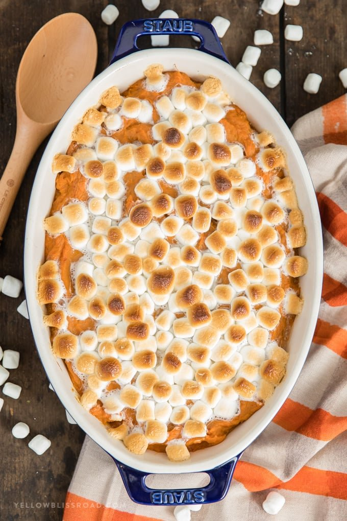 The Best Sweet Potato Casserole Recipe Thanksgiving Side Dish