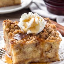 Baked Cinnamon French Toast Casserole