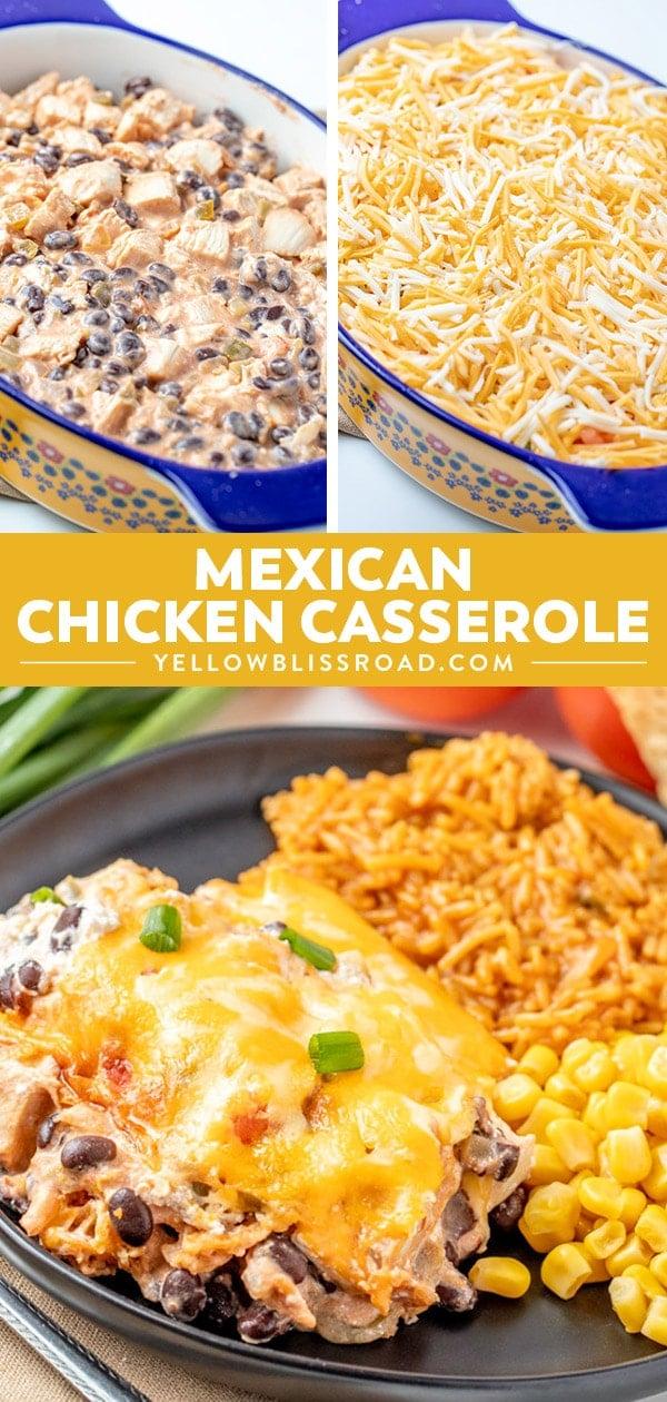 Social media image of Mexican Chicken Casserole