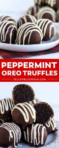 Need an easy Christmas dessert? Check out these Peppermint Oreo Truffles made with cream cheese, mint Oreo cookies, and chocolate almond bark!