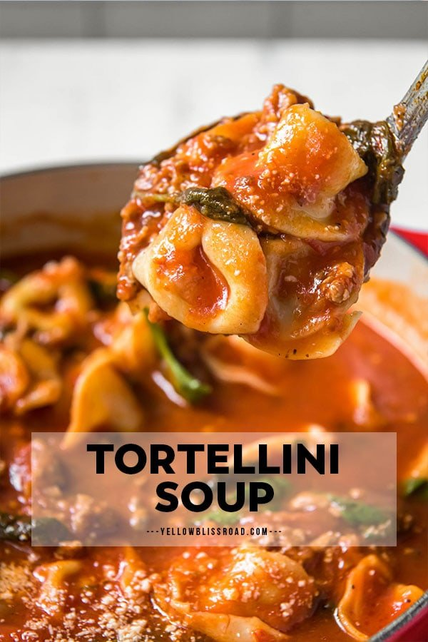 tortellini tomato soup pinterest friendly image