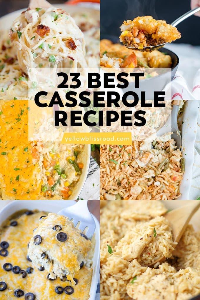 Social media image of 23 Best Casserole Recipes