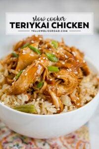 Social media image of Teriyaki Chicken