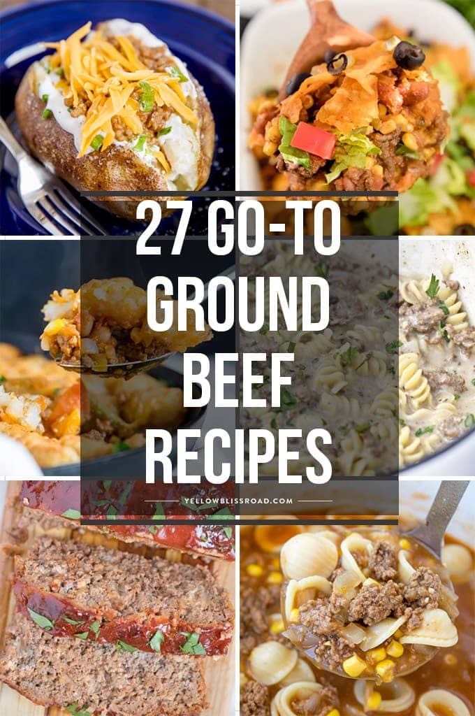 27 Simple Ground Beef Recipes