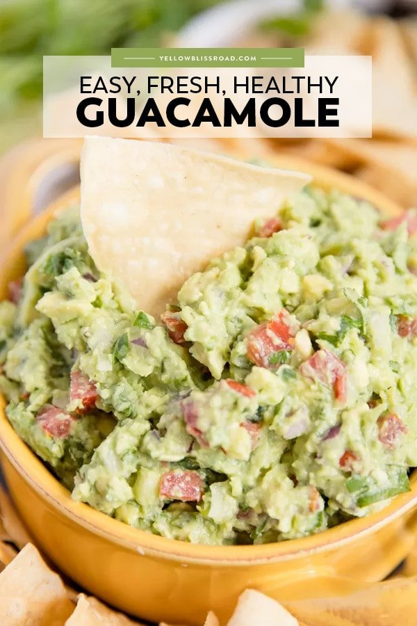 Best guacamole pinnable image