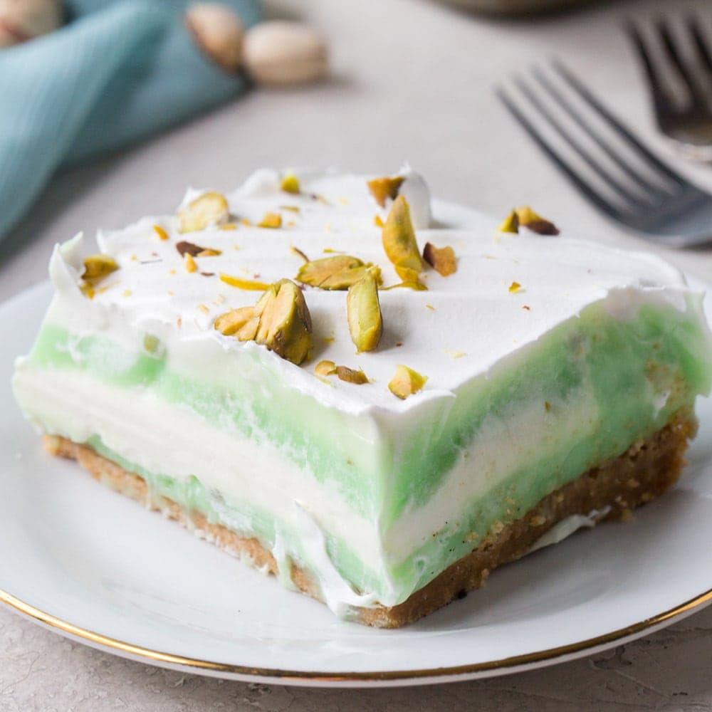 Pistachio Pudding Icebox Cake Yellowblissroad Com