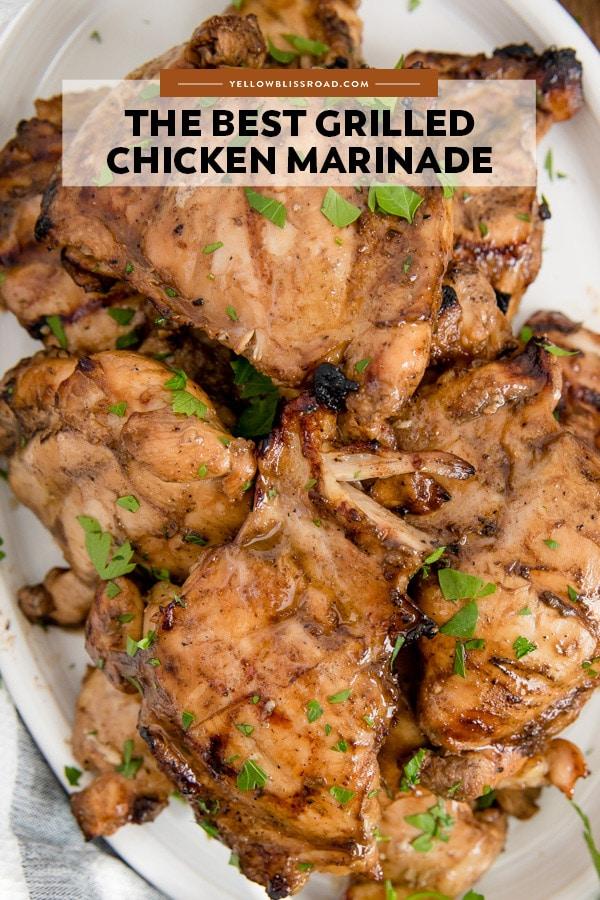 Social media image of Grilled Chicken Marinade