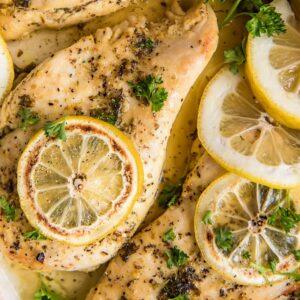 Social media image of Lemon Pepper Chicken