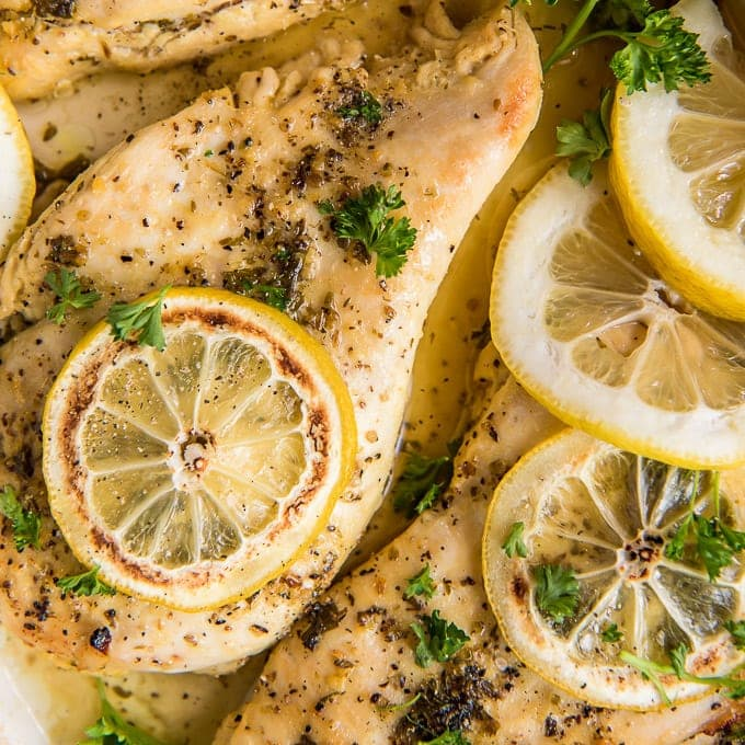 Juicy Baked Lemon Pepper Chicken