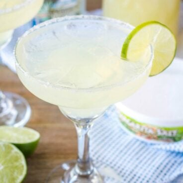 Classic Margaritas are the perfect cocktail for any occasion! Serve them on the rocks or frozen with a salted rim, and lime for the happiest hour around!