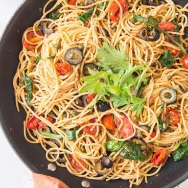 Social media image of Pasta Puttanesca