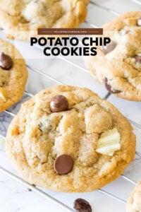 Social media image of Potato Chip Cookies