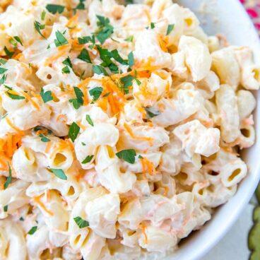 Social media image of Macaroni Salad