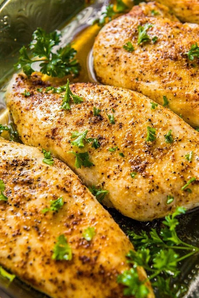 Chicken Breast Recipe Tender Juicy Simple Oven Recipe