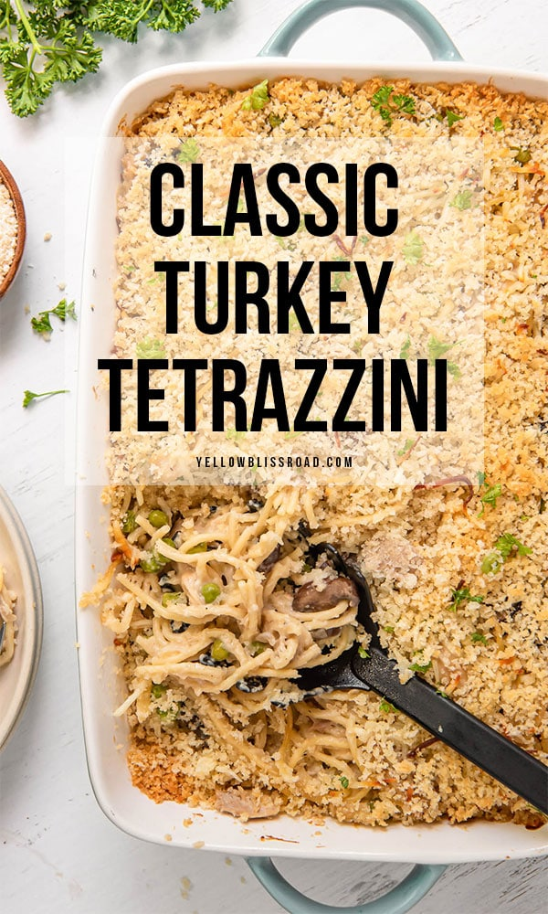 Turkey Tetrazzini long pinterest friendly image