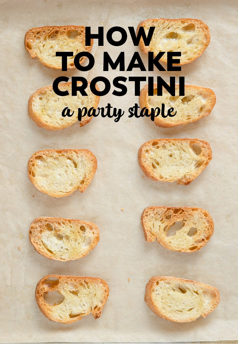 How to make crostini, a party staple