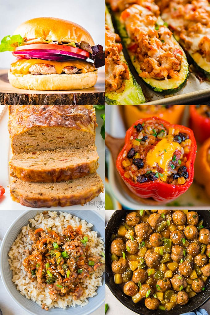 20 Of The Best Ground Turkey Recipes Yellowblissroad Com
