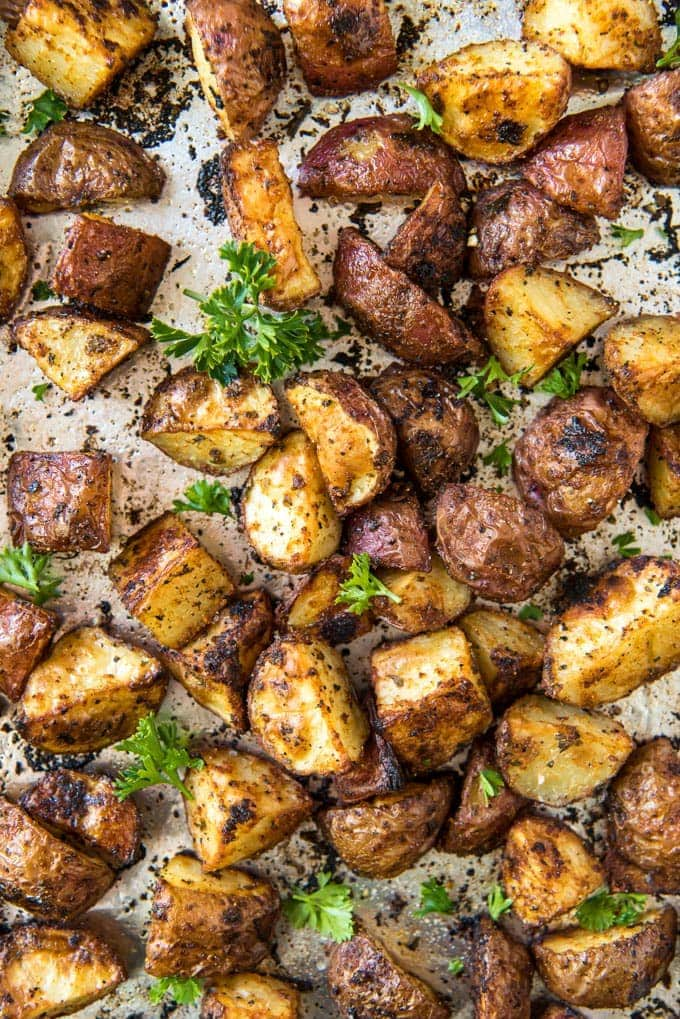 Crispy Roasted Red Potatoes Yellowblissroad Com