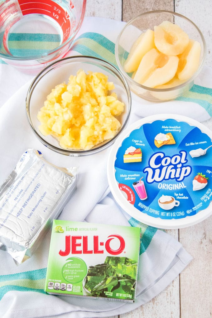 ingredients for jello salad
