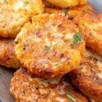 A close up of Potato Croquettes