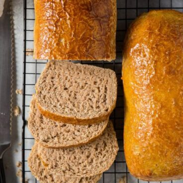 A close up of Bread