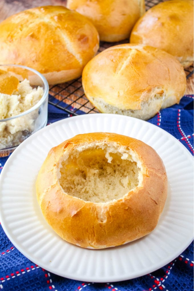 Easy Homemade Bread Bowls Yellowblissroad Com
