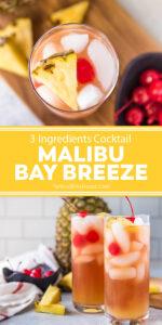 malibu bay breeeze pinnable image with text