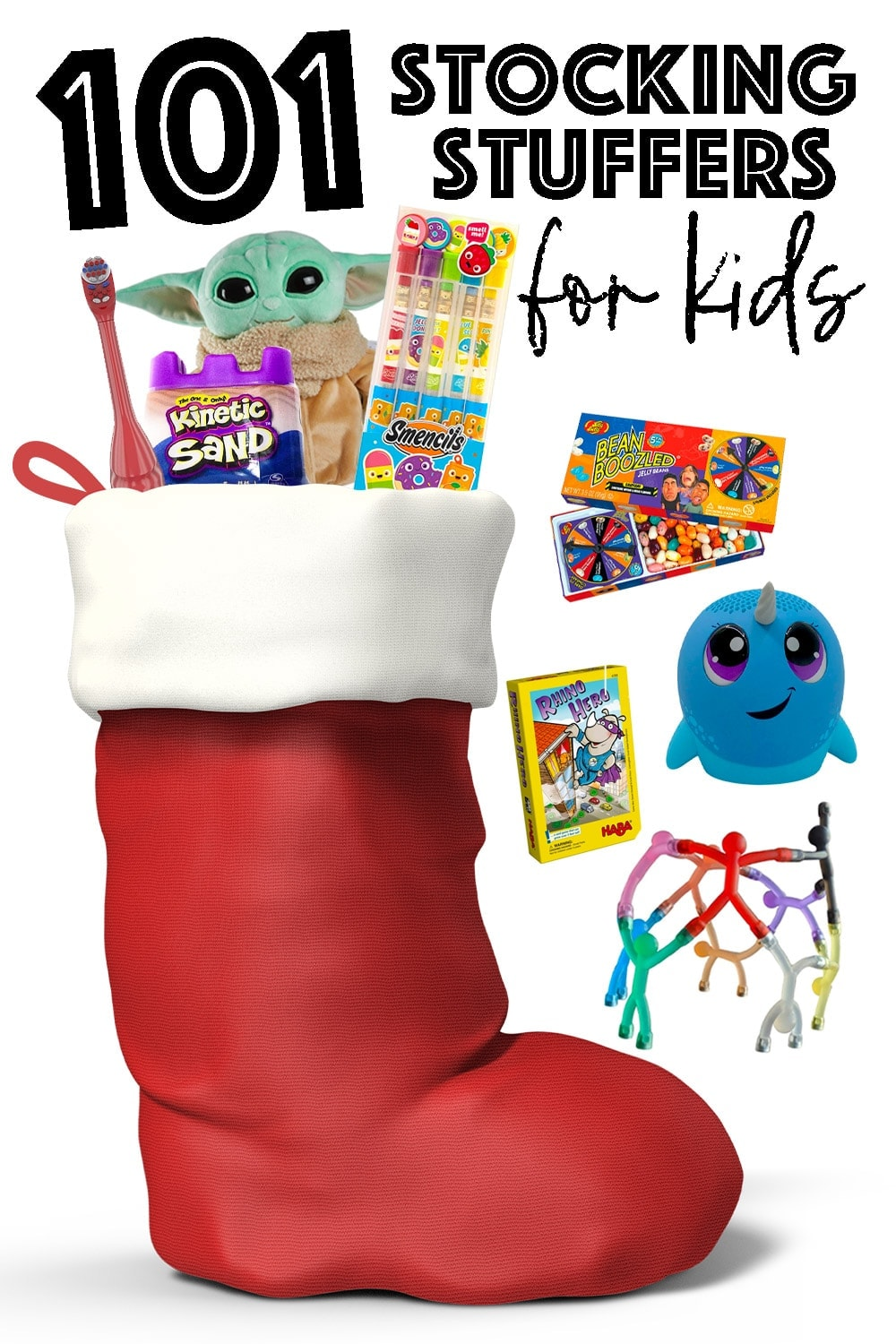101 Stocking Stuffers For Kids Kids Stocking Fillers