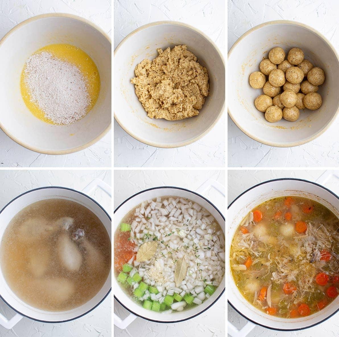 how to make matzo ball chicken soup
