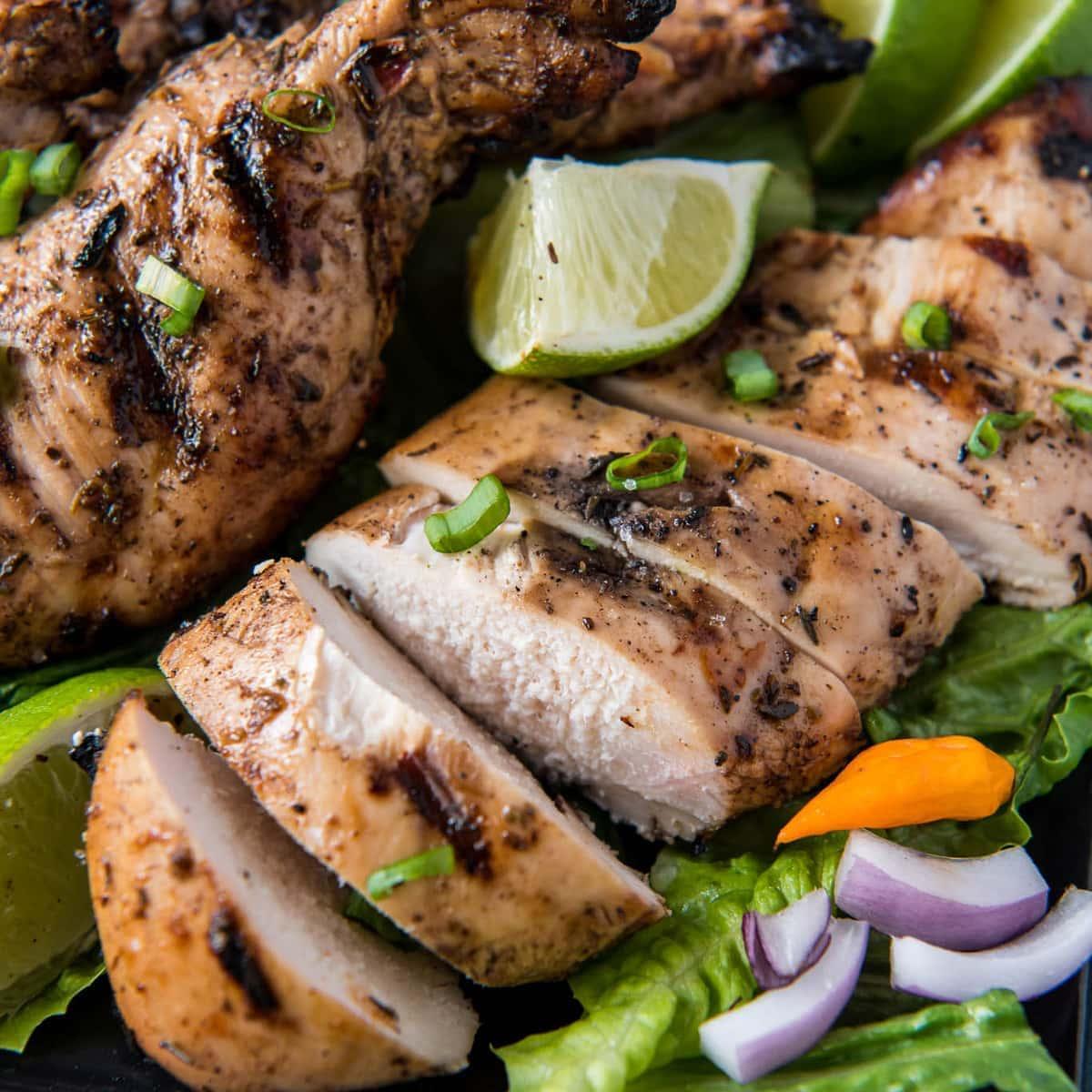 Easy Grilled Jerk Chicken