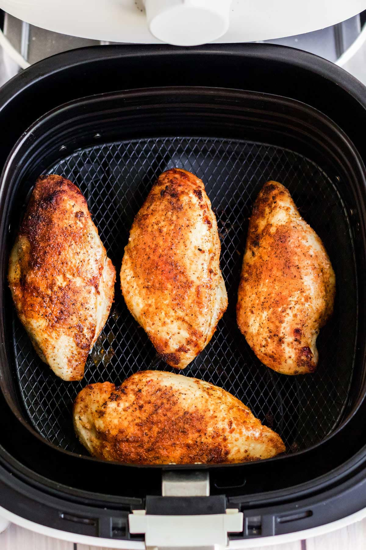chicken breasts cooked in the air fryer