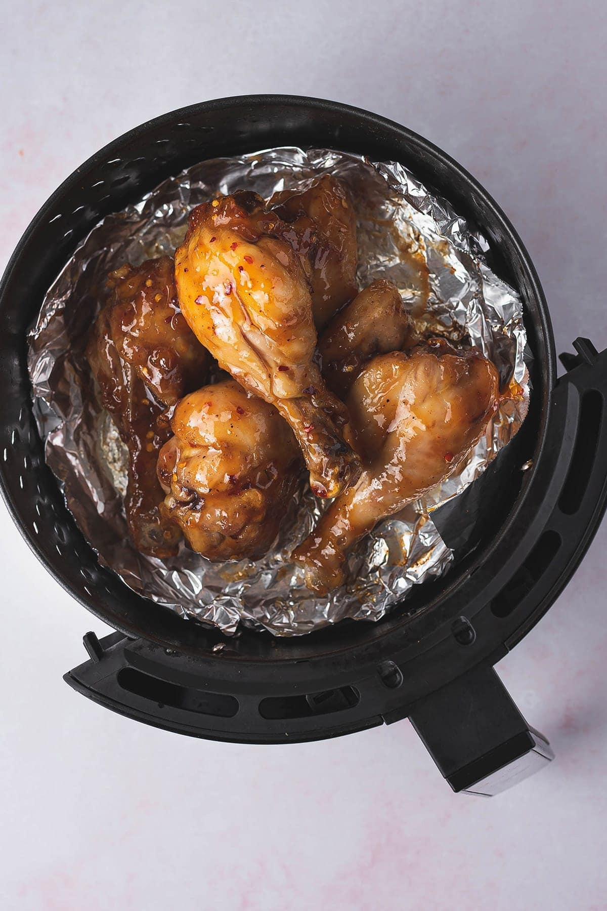 round air fryer with drumsticks