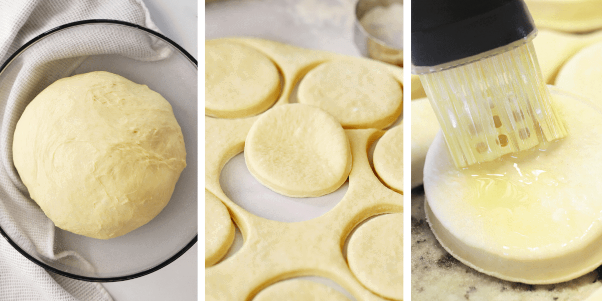 step by step house cut out parker house rolls