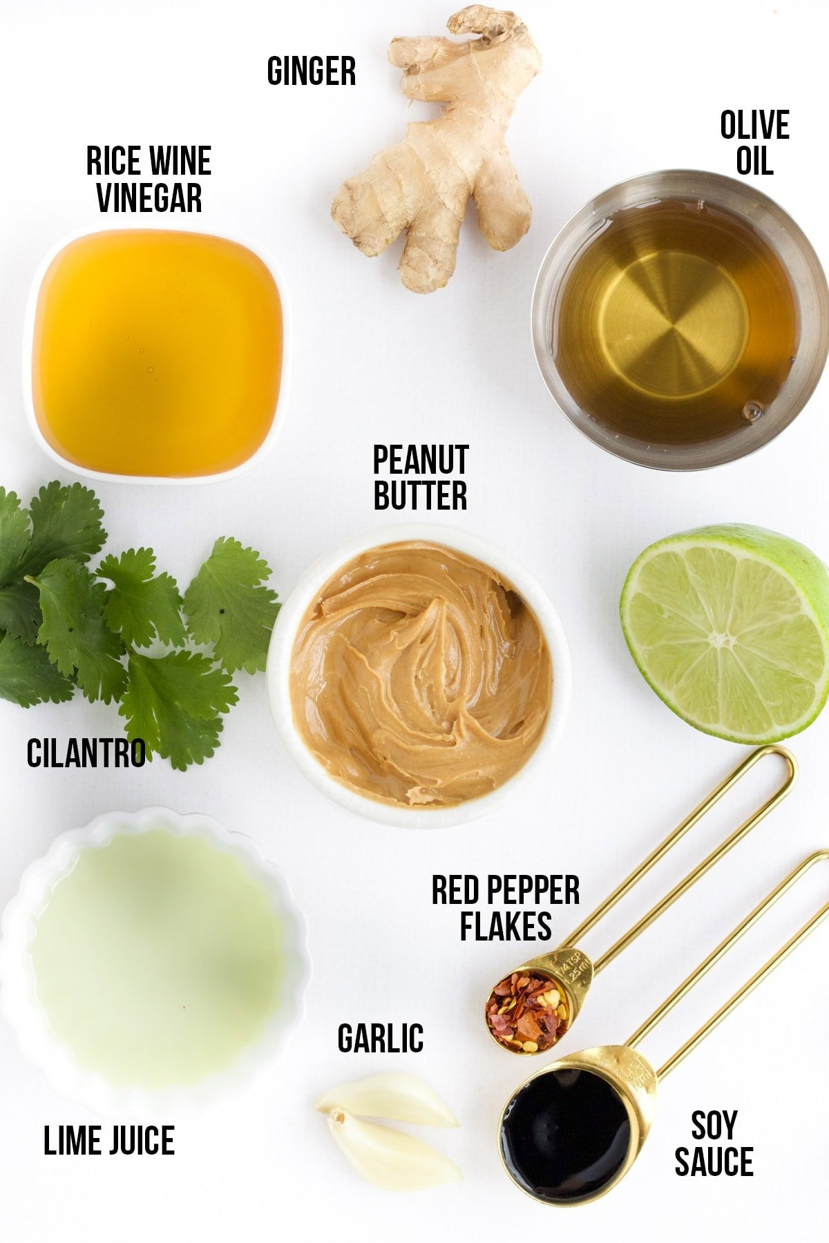 ingredients needed to make thai salad dressing